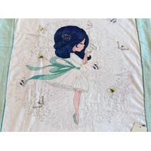 Дитячий рушник Maison D'or Cute Princess махровий  75-100 см біле