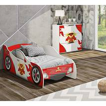 Комплект детской мебели Оксфорд Машинки