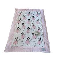 Дитячий рушник Maison D'or Pinkie Princess махровий  75-100 см біле