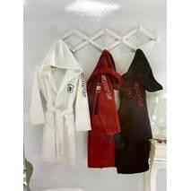 Підлітковий халат Maison D'or Sport White бавовна 12-14 років біла
