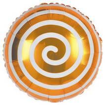 Кулька фольгированный  Спіраль золота (Китай)