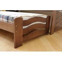 Односпальне ліжко з додатковим  висувним спальним місцем Мальва