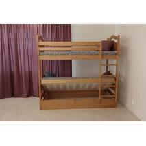 Двухъярусная кровать Вінні Пух с подъемным механизмом