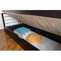 Односпальне ліжко з підйомним механізмом Телесик