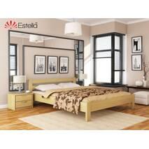Ліжко двоспальне з натурального дерева Рената