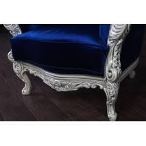 Крісло м'яке Вероніка в стилі Бароко