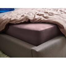 Натяжная простыня Essentials Dormeo Сиреневый  160х200 см
