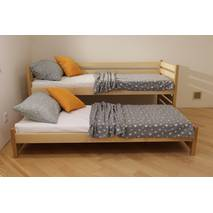 Односпальне ліжко з додатковим  висувним спальним місцем Сімба