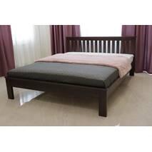Двоспальне ліжко Жасмін з низьким узніжжям