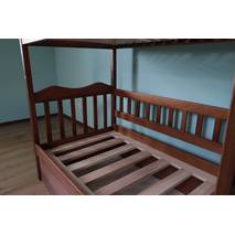 Двухъярусная кровать Рукавичка с подъемным механизмом
