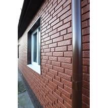 Фасадні панелі Stone House Цегла, колір: Червоний