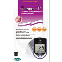 Глюкометр Infopia Element   тест смужки №10