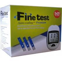"""Тест-полоски """"Fine test Auto - coding Premium"""", 50шт. у уп."""
