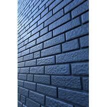 Фасадні панелі Stone House Цегла, колір: Графітовий
