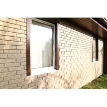 Фасадні панелі Stone House Цегла, колір: Бежевий