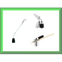 Дзеркало для гортані з освітлювачем Welch Allyn 3.5v Медаппаратура