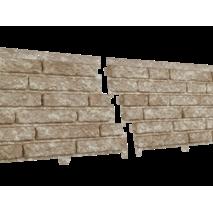 Фасадні панелі Stone House Кварцит, колір: Світло-бежевий