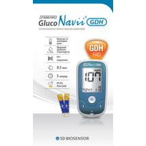 Акція Глюкометр STANDARD GlucoNavii GDH   Тест-полоски STANDARD GlucoNavii® GDH 100 шт Медаппаратура