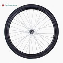 """Заднє надувне колесо для інвалідних колясок 24"""" x 1⅜"""""""