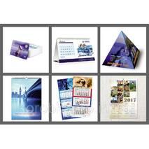 Изготовление плакатов, календарей