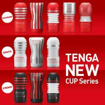 Мастурбатор Tenga Rolling Head Cup GENTLE с интенсивной стимуляцией головки