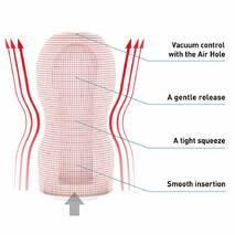 Мастурбатор Tenga Deep Throat (Original Vacuum) Cup (глубокая глотка) GENTLE с вакуумной стимуляцией