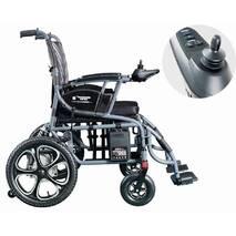 Складная электротележка D-6024 (Li-ion). Инвалидная коляска. Кресло для инвалида. Кресло коляска.