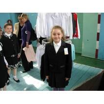 Школьная форма для девочек младших классов, черная