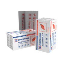 Пенополистирол экструдованый SWEETONDAL CARBON PROF RF 1180x580x50