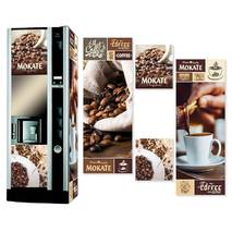 Наклейка на кофейный автомат Necta Astra