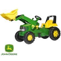 Трактор на педалях Rolly Toys John Deere для дітей 3-8 років