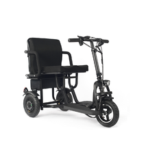 Электрический Скутер. Складной. Для пожилых людей и инвалидов. Электрическая тележка. Модель 48350.