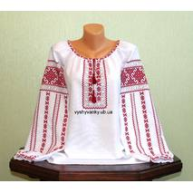 """Жіноча сорочка вишита """"Поліський узор"""". Ручна робота"""