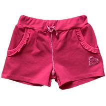Шорти з кишенями і вишивкою для дівчинки