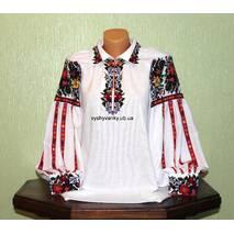 Жіноча вишита сорочка Галич, ручна робота