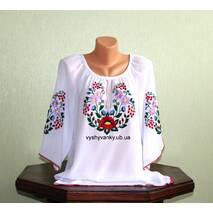блуза женская вышитая ручной работы