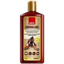 Средство для ухода и чистки кожаной мебели, одежды и аксессуаров  Sano Leather Care Liquid 500 мл.