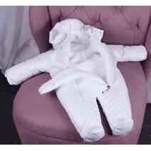 Набор для выписки из роддома и прогулок зимний Brilliantbaby Финляндия 56-68 белый