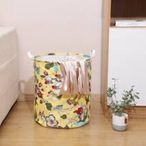 Кошик для іграшок жовтий Квітучі дерева