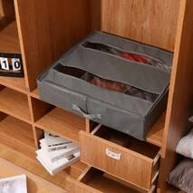 Сумка з відсіками органайзер для зберігання речей Сірий 58*55*13 см
