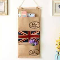 Підвісний органайзер з кишенями Британський прапор