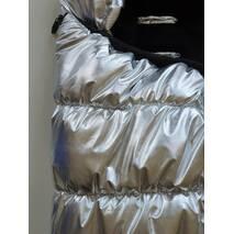 Конверт зимний для новорожденных в коляску и на прогулку Flavien КВ1017 56-68 см серебристый