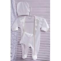 Нарядний костюм для малюка Смокінг 62 молочно-кремовий