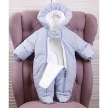 Комплект для выписки из роддома зимой для мальчика Brilliantbaby Финляндия 56-68 голубой