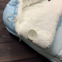Конверт кокон зимний на выписку и в коляску Bambi 70х40 см