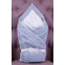 Конверт для новорожденного зимний Lari Dream 95х95 см голубой