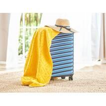 Бавовняне покривало Terry V2 Dormeo Жовтий  130x190 см