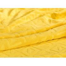 Бавовняне покривало Terry V2 Dormeo Жовтий  200x200 см