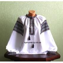 Современная вышиванка женская ручной работы