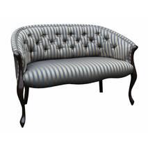 Мини диван Мэри 2 на деревянных фигурных ногах